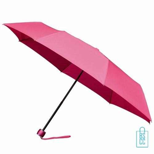Opvouwbare paraplu bedrukken LGF-202 Roze