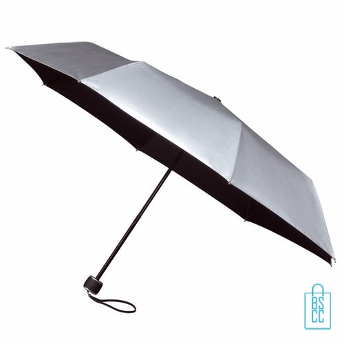 Opvouwbare paraplu bedrukken LGF-202 Zilver