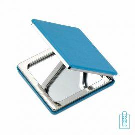 Spiegeltje vierkant luxe bedrukken, Spiegel bedrukken, spiegel bedrukt, spiegel met logo