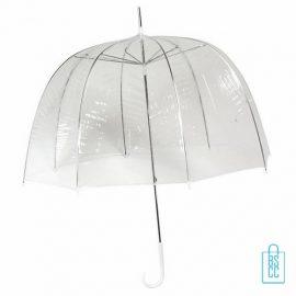 RD-2, Transparante paraplu bedrukt, doorzichtige paraplu bedrukken, doorzichtige paraplu bedrukt, transparante paraplu met logo
