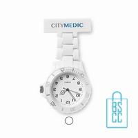 Verpleegkundige horloge wit bedrukken