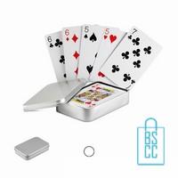 Blikje spelkaarten bedrukken, spellen bedrukken
