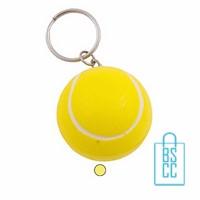 Sleutelhanger anti stress tennisbal bedrukken