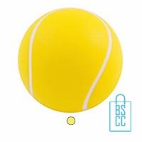 stressballen tennisbal bedrukken, stressballen bedrukt, stressballen met logo