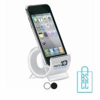 Telefoonhouder transparant bedrukt met logo, telefoon accessoires bedrukken, telefoon gadgets bedrukken, goedkope relatiegeschenken bedrukken