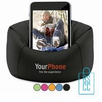Telefoonstandaard mini zitzak goedkoop, telefoon accessoires bedrukken, telefoon gadgets bedrukken, goedkope relatiegeschenken bedrukken