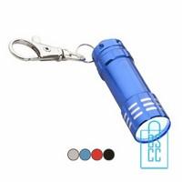 Zaklamp sleutelhanger bedrukken, zaklamp sleutelhanger bedrukt, bedrukte sleutelhanger, sleutelhanger met logo