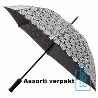 Paraplu bedrukken goedkoop, assorti, dessins, design, GP-43