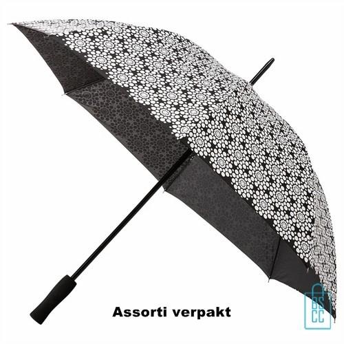 Paraplu bedrukken goedkoop, assorti, dessins, design, GP-43