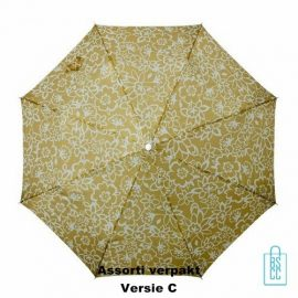 Paraplu bedrukken goedkoop, assorti, dessins, design, LF-114