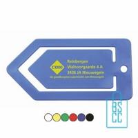 Paperclip Bedrukken 15CM, paperclip bedrukt, bedrukte paperclip, paperclip met logo, memoclip bedrukken