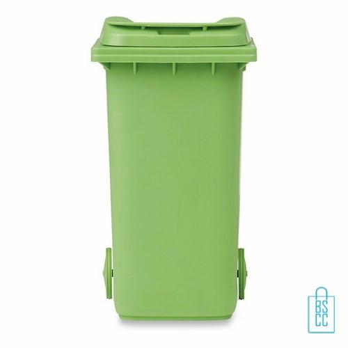 Pennenhouder bedrukken container groen, , pennenhouders bedrukt, pennenhouders met logo, bedrukte pennenhouders