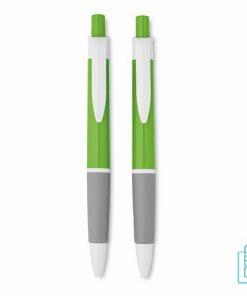 Pennenset kunststof koker bedrukken, Pennenset goedkoop bedrukken, Pennenset bedrukt, Pennenset met logo, bedrukte Pennenset