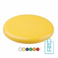 Plastic Frisbee bedrukken, frisbee bedrukt, bedrukte frisbee, frisbee met logo