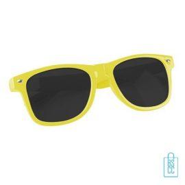Plastic zonnebril goedkoop bedrukken, zonnebril bedrukt, bedrukte zonnebril, zonnebril met logo