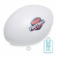 Stressballen rugbybal bedrukken, Stressballen rugbybal bedrukt, Stressballen rugbybal met logo, bedrukte Stressballen rugbybal