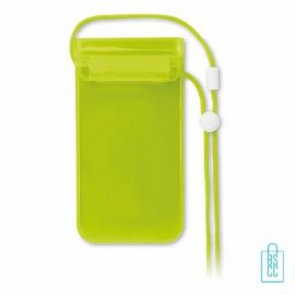 Waterdichte smartphonehoes goedkoop bedrukken, Waterdichte smartphonehoes bedrukt, Waterdichte smartphonehoesmet logo, bedrukte Waterdichte smartphonehoes