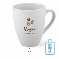 Witte koffiemok goedkoop bedrukken, Koffiemok bedrukt, Koffiemok met logo, bedrukte Koffiemok