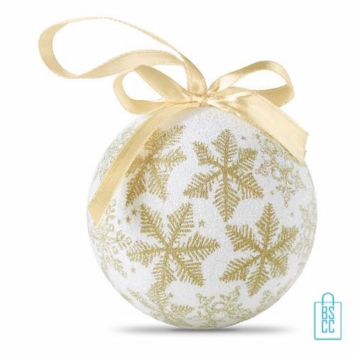 kerstbal bedrukken, kerstbal bedrukt, bedrukte kerstbal met logo, kerstballen, goud, parelmoer
