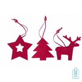 kerstboomhanger bedrukken, bedrukte kerstboomhanger met logo, goedkope kerstgeschenken bedrukken
