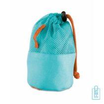 Fitness handdoek klein bedrukken goedkoop zakje, sporthanddoek bedrukt, sporthanddoek met logo