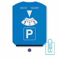 Parkeerschijf plastic bedrukken, parkeerkaart bestellen, parkeerschijf goedkoop