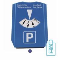 Parkeerschijf goedkoop bedrukken, parkeerkaart bestellen, parkeerschijf goedkoop