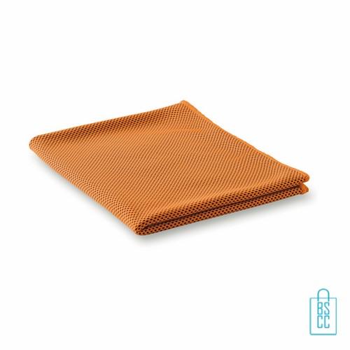 Sporthanddoek goedkoop bedrukken met logo, sporthanddoek bedrukt, sporthanddoek met logo