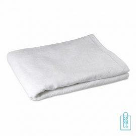 Sporthanddoek groot bedrukken witte, sporthanddoek bedrukt, sporthanddoek met logo
