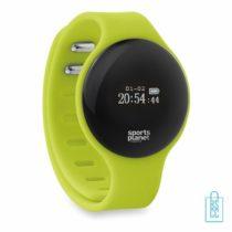 Sporthorloge bluetooth bedrukken, aparte fitness tracker, smartwatch bedrukken, goedkoop fitness horloge bedrukken