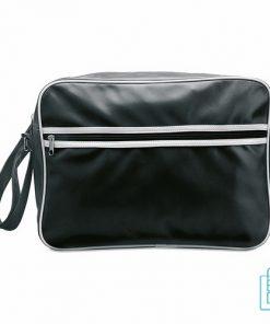 Sporttas goedkoop bedrukken zwart, sporttas bedrukken, bedrukte sporttas met logo