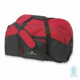Sporttas maxi bedrukken rood, sporttas bedrukken, bedrukte sporttas met logo