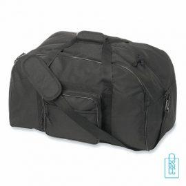 Sporttas maxi bedrukken zwarte, sporttas bedrukken, bedrukte sporttas met logo