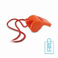 Fluitje bedrukken oranjeartikel