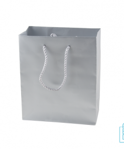 Gelamineerde tas mat bedrukken zilver