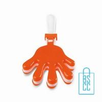 Handenklapper bedrukken oranjeartikel