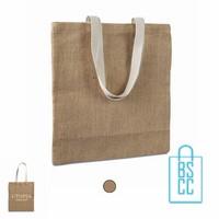 Milieuvriendelijke jute tas bedrukken, bedrukte jute tassen, jute tasjes bedrukt