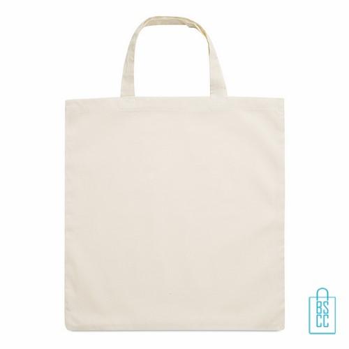 Biologisch katoenen tas bedrukken shopper, duurzaam tasje bedrukt, goedkope milieuvriendelijke tas