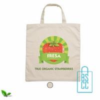 Biologisch katoenen tas bedrukken, duurzaam tasje bedrukt, goedkope milieuvriendelijke tas