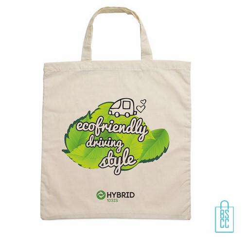 Biologisch katoenen tas bedrukt, duurzaam tasje bedrukt, goedkope milieuvriendelijke tas