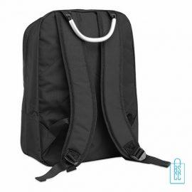 Laptop rugzak 13 inch bedrukken zwart, laptoptas bedrukt, goedkope laptoptas met logo