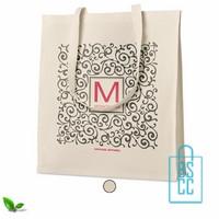 Luxe tas biologisch bedrukken, , duurzaam tasje bedrukt, goedkope milieuvriendelijke tas