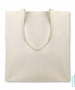 Organische katoenen tas bedrukken biologisch, duurzaam tasje bedrukt, goedkope milieuvriendelijke tas