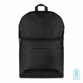 Rugzak budget bedrukken zwart, zwarte rugzak bedrukt, goedkope rugzak bestellen