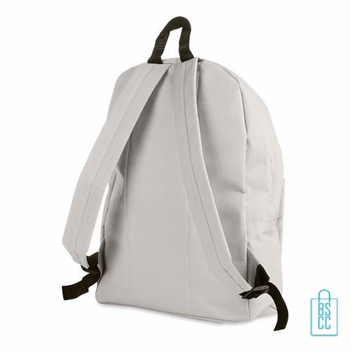 Rugzak goedkoop bedrukt wit, witte rugzak bedrukken, goedkope eastpack rugtas bedrukken