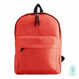 Rugzak goedkoop bedrukt rood, rode rugzak bedrukken, goedkope eastpack rugtas bedrukken,