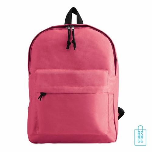 Rugzak goedkoop bedrukt roze, roze rugzak bedrukken, goedkope eastpack rugtas bedrukken,