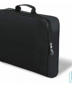Documententas polyester bedrukken zwart, documententas bedrukken, documententas bedrukt, tassen bedrukken