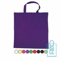 Katoenen draagtas gekleurd bedrukken, katoenen tassen bedrukt, goedkope katoenen tas met logo