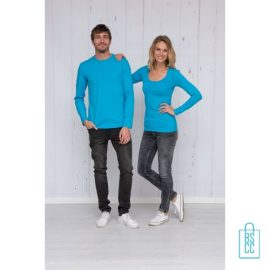 Longsleeve Heren Shirt bedrukken met logo, longsleeve bedrukt, bedrukte longsleeve met logo